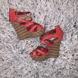 Qupid Sandal Wedges
